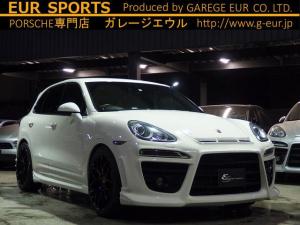 ポルシェ カイエン EUR-GT ES5/22AW ESマフラー ローダウン