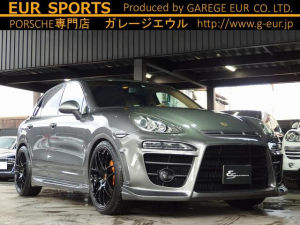 ポルシェ カイエン S EUR-GT PASM スポーツシート ベージュレザー