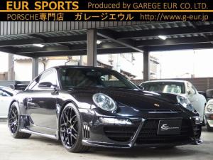 ポルシェ 911 911カレラ エクスクルーシブED EUR-GTエアロ ES8-20inアルミ ESダウンサス スポクロPKG スポーツエグゾースト PASM PSM  キセノンヘッドライト シートヒーター HDDナビ フルセグTV ETC