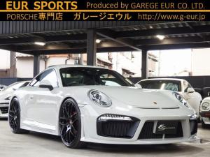 ポルシェ 911 911カレラ スポクロPKG レザーインテリア サンルーフ EUR-GTエアロ ES8-22inアルミ ESダウンサス エレクトリックコントロールスポーツシート BOSEサウンド 電格ミラー 社外SDナビ TV Bカメラ ETC