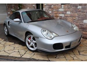 ポルシェ 911 911ターボ ティプトロニックS 4WD 赤革 SR