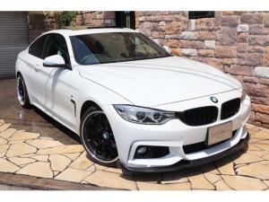 BMW 4シリーズ 420iクーペ Mスポーツ ガラスSR 禁煙ワンオーナー車