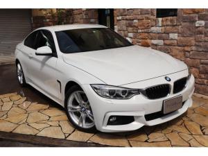 BMW 4シリーズ 420iクーペ Mスポーツ 純正HDDナビ 純正18インチ