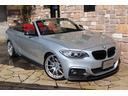 BMW/BMW 220iカブリオレ Mスポーツ アドバン19 赤革 1オーナ