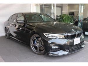 BMW 3シリーズ 330i Mスポーツ ワンオーナー 禁煙車 ACシュニッツァーフロントスポイラー・サイドスカート・リアディヒューザー・20インチアルミ BC・RACING車高調 グループMエアラムシステム DTEシステム