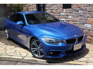 BMW 4シリーズ 435iカブリオレ Mスポーツ 黒革 禁煙ワンオーナー車