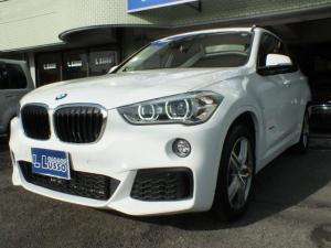BMW X1 xDrive 18d Mスポーツ ワンオーナーガレージ保管、禁煙車、アドバンスドアクティブセーフティ、コンフォートパッケージ、ハイラインパッケージ、ヘッドアップディスプレイ、プライバシーガラス、シートヒーター、LEDヘッドライト