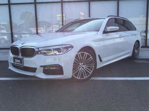 BMW 5シリーズ 523dツーリングMsp下取ハイラインP黒革イノベーションP