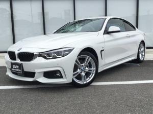 BMW 4シリーズ 420iクーペ Mスポーツ弊社下取禁煙車後期モデルDアシスト