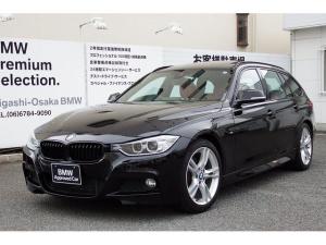 BMW 3シリーズ 320dツーリング Mスポーツ 弊社1オーナー 赤レザー サンルーフ 被害軽減ブレーキ ブラックキドニーグリル 認定保証