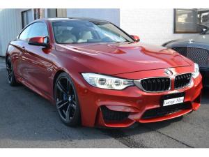 BMW M4 M4クーペ 本革 ランバーサポート シートヒーター クルーズコントロール 純正ナビ 地デジ ヘッドアップD Bカメラ ETC Harman/Kardon リアローラーブラインド Driving Assistant