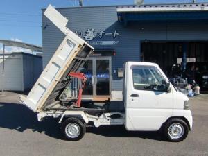 三菱 ミニキャブトラック PTO 天突ダンプ 4WD AC PS ワンオーナー
