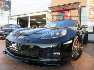 シボレーコルベット コンバーチブル Z06仕様・黒本皮シート・電動コンバーチブル・ワークジーストアルミ19&20インチ・ビルシュタインショック・ボーラマフラー・