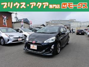 トヨタ アクア G 社外ナビ バックカメラ オートAC キーレス 社外アルミ
