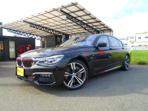 BMW 7シリーズ 750Li Mスポーツ パノラマサンルーフ リアエンター リアコンフォートプラスPKG レーザーライト ブラックレザーシート 全席ベンチレーション&ヒーター ハーマンカードン ナビ DTV ETC 360カメラ 前後ドラレコ