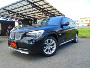 BMW X1 xDrive 25i 4WD 純正HDDナビ フルセグDTV ETC パワーシート コンフォートアクセス オートライト 取説 保証書 スペアキー