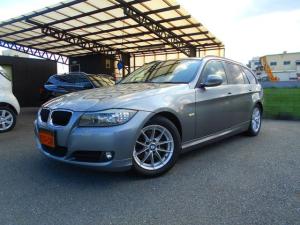 BMW 3シリーズ 320iツーリング コンフォートアクセス 純正ナビ DTV ETC Bカメラ シートカバー オートエアコン
