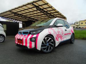 BMW i3 レンジ・エクステンダー装備車 1オーナー ACC Pアシスト 衝突軽減 インテリジェントセーフティ 純正ナビ ETC Bカメラ LEDヘッドライト 充電ケーブル 取説 保証書 スペアキー ラッピング