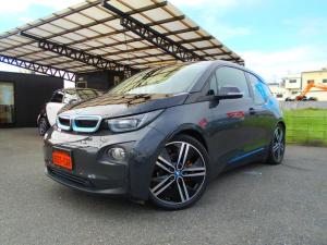 BMW i3 ベースグレード 1オーナー 禁煙車 衝突軽減 ACC パークアシスト スマートキー ブラウンレザー ウッドパネル 純正ナビ ミラーETC Bカメラ 充電ケーブル 取説 保証書 スペアキー 充電ケーブル