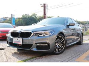 BMW 5シリーズ 523d Mスポーツ 2年長期無料保証付 TOP&3Dビューカメラ ACC インテリジェントS 純正ナビフルセグTV 19インチアルミ パワートランク LEDヘッドライト ドライブレコーダー