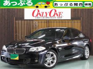 BMW 5シリーズ 523i Mスポーツ 純正ナビTV Bカメ 禁煙 ETC