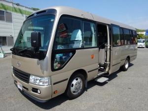 トヨタ コースター ロングEXターボ 29人乗り マイクロバス 総輪エアサス 観光バス仕様 180馬力 AT
