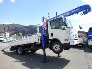 いすゞ エルフトラック セルフクレーン 4段 ワイド 超ロング 2950kg積み