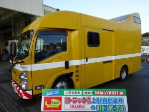 いすゞ エルフトラック  バン キャンピングカーベース車 元道路作業車  庫内2室 左スライドドア 標準 1.9t積み