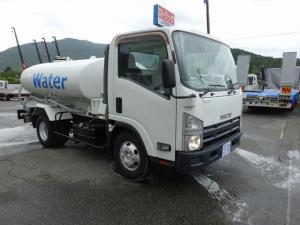 いすゞ エルフトラック 散水車 PTO式 4t・ 4KL前方圧力散水 後方重力散水
