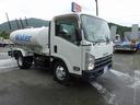 いすゞ/エルフトラック 散水車 PTO式 4t・ 4KL前方圧力散水 後方重力散水
