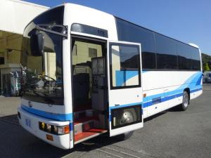 日産ディーゼル  スペースランナーJM 34人乗りバス デラックス観光仕様 自動スイング扉 エアサス 1列貫通式トランク