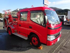 日野 デュトロ  消防車 消防ポンプ付自動車 モリタ製 A-2級 e-モニター仕様 ダブルキャブ 6人乗り