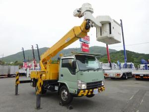 いすゞ エルフトラック  多関節 高所作業車 電工仕様 活線作業装置 サブバッテリー式 アイチ製 SN15B 作業床高14.6m