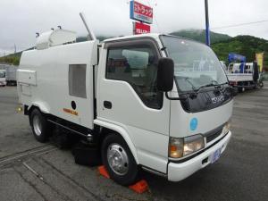 いすゞ エルフトラック  路面清掃車 ストリートスイーパ ロードスイーパ 豊和工業 HA75 容積3.2m3 標準 10尺 1.9トン積み
