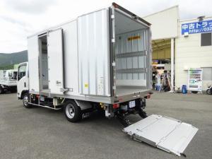 いすゞ エルフトラック  低温冷凍車 -30℃設定 加温機能付 スタンバイ機能 床下格納パワーゲート 左スライドドア リヤ観音式扉 3t積み