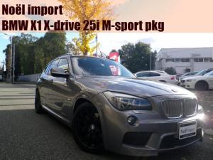 BMW X1 xDrive 25i Mスポーツパッケージ /Rays18AW/KW車高調/supersprintデュアルマフラー/