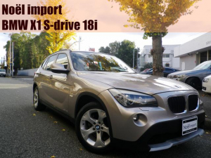 BMW X1 sDrive 18i 2011モデル/禁煙車/サンルーフ/純正HDDナビ
