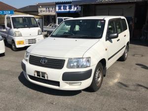 トヨタ サクシードバン UL 商用車 AC オーディオ付 ETC 白 AT