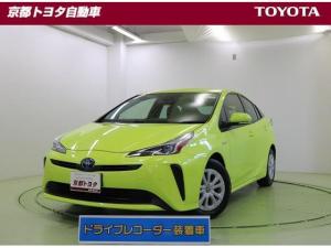 トヨタ プリウス S ドラレコ・ETC・Bカメラ・試乗車・メモリーナビ・DVD