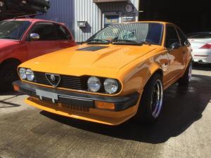 アルファロメオ アルフェッタ GTV6 WORKマイスターホイール ワンオフマフラー