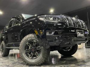 トヨタ ランドクルーザープラド TX MCLIMBコンプリート+ リフトUP オーバーフェンダー ボディKIT 17インチAW マフラー ブラックグリル