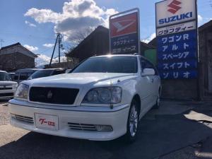 トヨタ クラウンエステート アスリートE 新品バッテリー・電動格納ミラー ETC