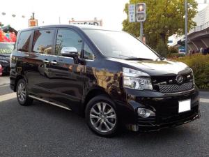 トヨタ ヴォクシー ZS 煌Z 両側自動ドア・ストラーダCN-S3310D・フルセグ・Bluetoothオーディオ・DVD・バックカメラ・ステアリングリモコン連動・ハーフレザーシート・本革巻ステアリング・HID・ETC