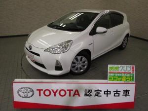 トヨタ アクア S メモリーナビ ワンセグ ワンオーナー スマートキ- CD