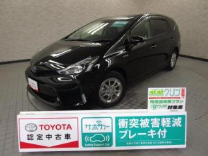 トヨタ プリウスアルファ S チューン ブラック スマートキ- イモビライザー LED