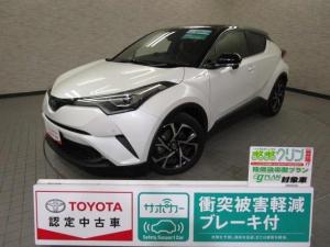 トヨタ C-HR HV G LEDエディション スマートキ- イモビライザー