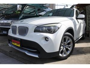 BMW X1 sDrive 18i 禁煙車 点検記録簿有り ストラーダナビ・フルセグTV Bカメラ レインセンサー オートライト HID ETC コンフォートアクセス