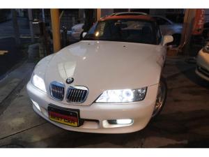 BMW Z3ロードスター ベースグレード 左ハンドル 5MT Mスポーツ17AW 社外品・マフラー・ヘッドライトHID・LEDフォグランプ・ETC