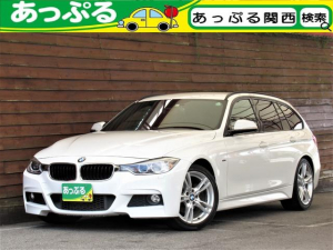 BMW 3シリーズ 320iツーリング Mスポーツ MエアロダイナミックスPKG Mスポーツサス 8速Sportミッション 電動テールゲート Sportシート パワーシート Mスポーツステア LEDリングポジション iDriveナビ BTオーディオ