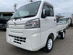ダイハツ ハイゼットトラック スタンダードSAIIIt 4WD AT車 LEDヘッドライト 届出済未使用車 社外12インチアルミ マット バイザー